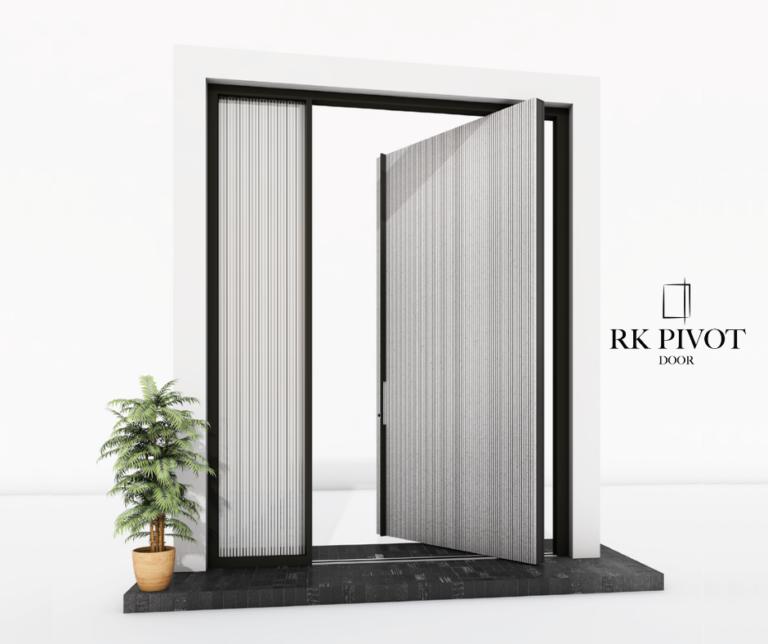 What are RK Pivot Doors front doors?